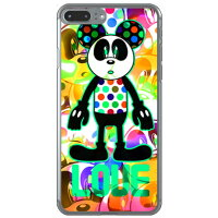 スマートフォンケース  Code;C (LOVE PANDA) アクアマリン クリア  iPhone 7 Plus/Apple