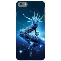 (スマホケース)Dragon Blue design by DMF / for iPhone 7/Apple (Coverfull)