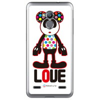 (スマホケース)Love Panda (ソフトTPUクリア)design by Moisture / for Blade V7 Lite/MVNOスマホ(SIMフリー端末)(SECOND SKIN)