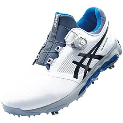 アシックス メンズ ゴルフシューズ GEL-ACE PRO X Boa 24.5cm/ホワイト×ファントム/3E TGN922