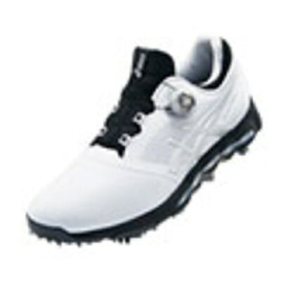 アシックス メンズ ゴルフシューズ GEL-ACE PRO X Boa 25.5cm/ホワイト×シルバー/3E TGN922