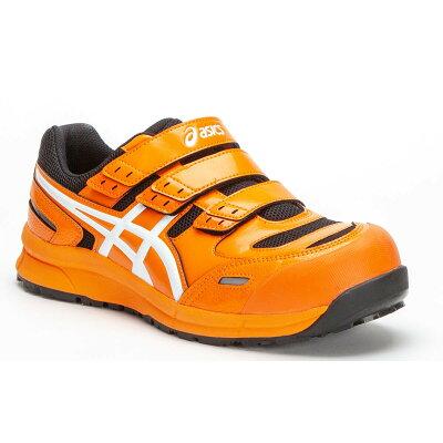 FCP102 アシックスの安全靴 ウィンジョブCP102 マジック止めの作業靴  JSAA A種 樹脂先芯