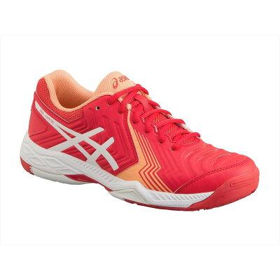 アシックス asics TLL790 FWテニス TENNIS / ALL COURT & CARPET COURT/STABILTY ウィメンズ LADY GEL-GAME 6 RED ALERT/WHITE