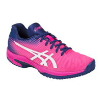 アシックス asicsテニス HP SOLUTION SPEED FF OC 1042A005 PINK GLO/WHITE 24.5cm