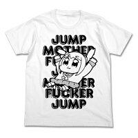 ポプテピピックJUMP Tシャツ/ホワイト-XL コスパ