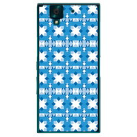 SECOND SKIN EU TYPE1 ターコイズ クリア / for arrows NX F-02H/docomo DFJ02H-PCCL-201-Y047