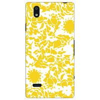 SECOND SKIN kion flower yellow / for MONO MO-01J/docomo DZTM1J-ABWH-193-K596