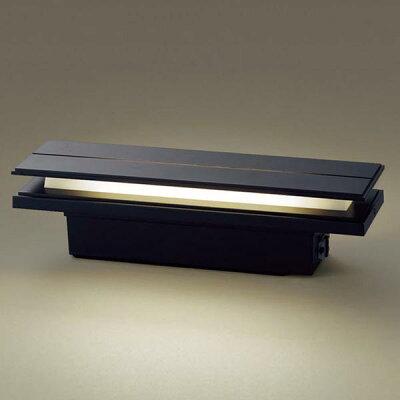Panasonic アウトドア/エクステリア防雨型LEDポーチライト/門柱灯明るさセンサ付40形電球相当電球色:LGWJ50127KLE1OD