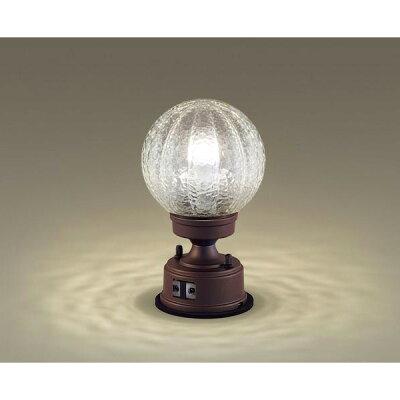 Panasonic アウトドア/エクステリア防雨型LED門柱灯明るさセンサ付40形電球相当電球色:LGWJ56935AZOD