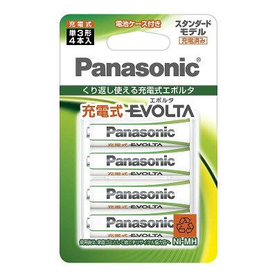 Panasonic 充電式エボルタ BK-3MLE/4BC