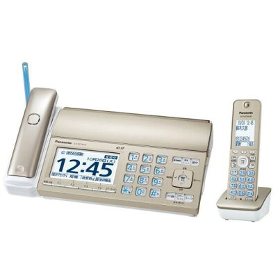 Panasonic おたっくす デジタルコードレス普通紙FAX KX-PZ720DL-N
