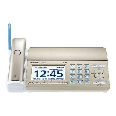 Panasonic おたっくす デジタルコードレス普通紙FAX KX-PZ720DW-N