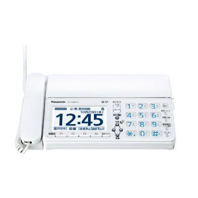 Panasonic デジタルコードレス普通紙ファクス KX-PZ620DW-W