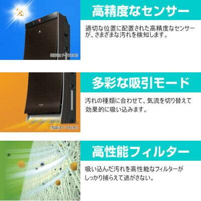 Panasonic ナノイーX 加湿空気清浄機 F-VXS90-W