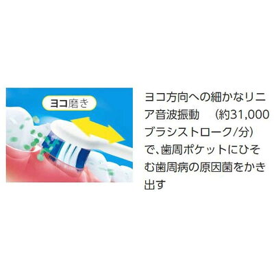 Panasonic 電動歯ブラシ ドルツ EW-CDP34-W