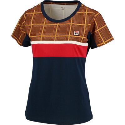 FILA フィラ テニスゲームシャツ VL2009 パーシモン