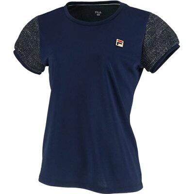 フィラ FILA レディース テニスウェア 93 ゲームシャツ フィラネイビー VL2018 20
