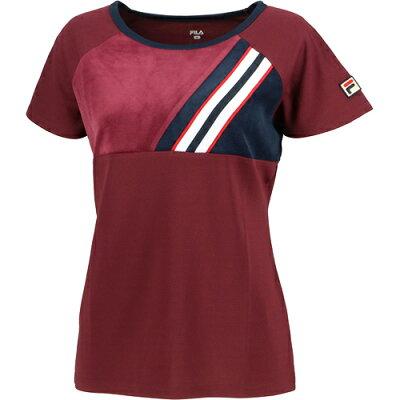 フィラ FILA テニスウェア レディース ベロアゲームシャツ VL2023