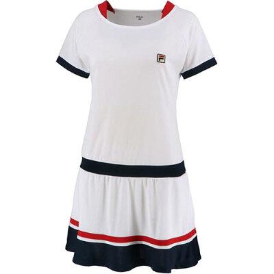 フィラ FILA レディース テニスウェア 93 ワンピース ホワイト VL2044 01