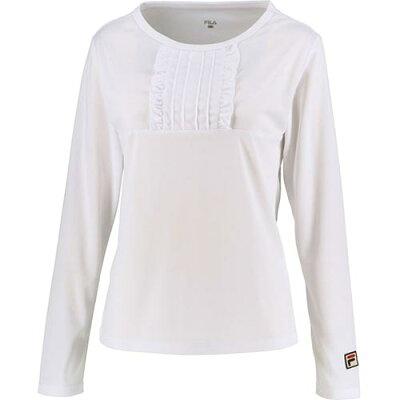 フィラ FILA レディース テニスウェア 93 ロングスリーブシャツ ホワイト VL2049 01
