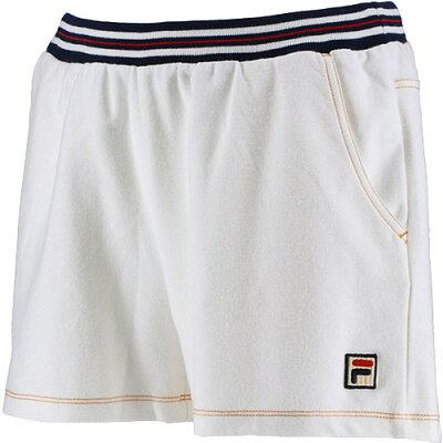 フィラ FILA レディース テニスウェア ショートパンツ ホワイト VL2093 01