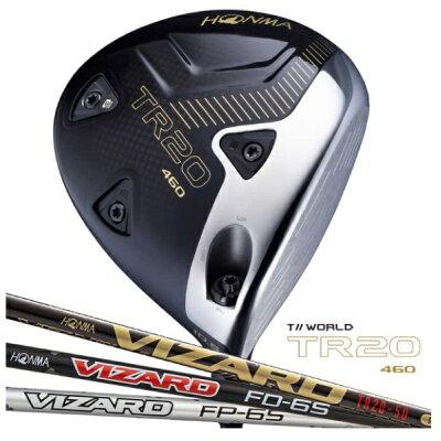 本間ゴルフ ドライバー T//WORLD TR20-460 Lee Bo-Mee Limited Edition 10.5° VIZARD FD-5 シャフト R