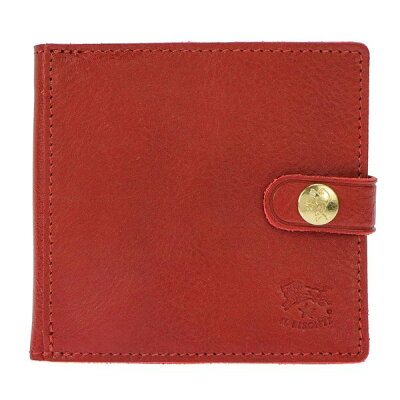 IL BISONTE イル ビゾンテ 60サイズ C0508/245 メンズ 二つ折り財布 レッド ワン
