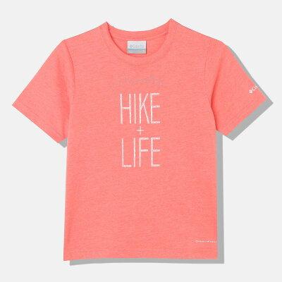 コロンビア Columbia キッズ チュファンクトゥハイクユースショートスリーブTシャツ Tchefuncte Hike Youth S/S Tee ホットコーラルヘザー PY2033 811 ジュニア