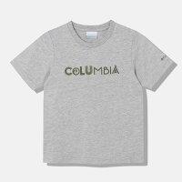 コロンビア Columbia キッズ ケネット ハイク ユース ショートスリーブ Tシャツ Grey Heather PY2034 039 ジュニア