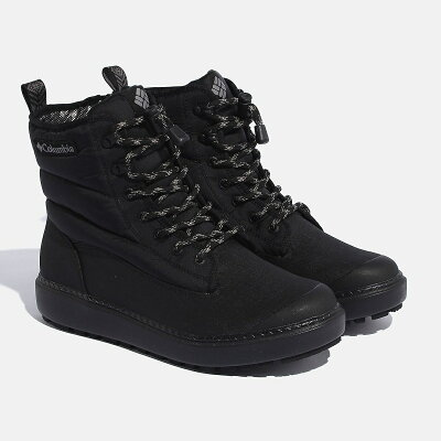 Columbia コロンビア SAPLAND ARC WATERPROOF OM サップランドアークウォーター Men's 8/26.0cm 010 BLACK YU0279