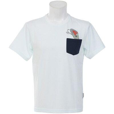コロンビア Columbia ブラフブラシュTシャツ 125/SeaSalt PM1391 メンズ