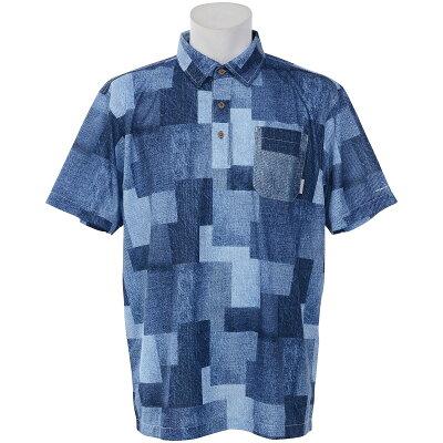 コロンビア Columbia メンズ ポロシャツ 半袖 ポーラーパイオニア 426/ColumbiaNavyPatchwork PM4459