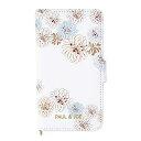 マークス iPhoneXR ポール&ジョー ブックケース/クリザンテーム・ホワイト