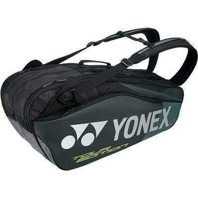 ヨネックス ラケットバッグ6 リュック付 テニス6本用 ブラック BAG1802R 007(1コ入)