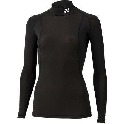 YONEX STBF1513/007 ヨネックス ウィメンズハイネックナガソデシャツ カラー:ブラック サイズ:O
