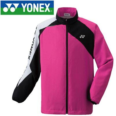 ヨネックス YONEX メンズ レディース テニス ウィンドウォーマー シャツ ローズピンク 70063 123
