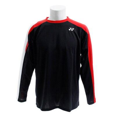 ヨネックス YONEX メンズ レディース テニス ロングスリーブ Tシャツ ブラック 16359 007