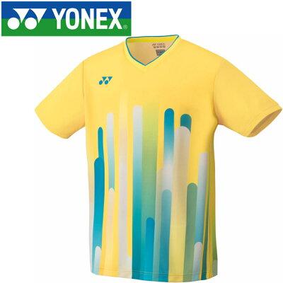 ヨネックス YONEX バドミントンウェア メンズ ゲームシャツ フィットスタイル10285 2019SS