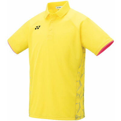 ヨネックス メンズゲームシャツ フィットスタイル 10298 色 : ライトイエロー サイズ : M