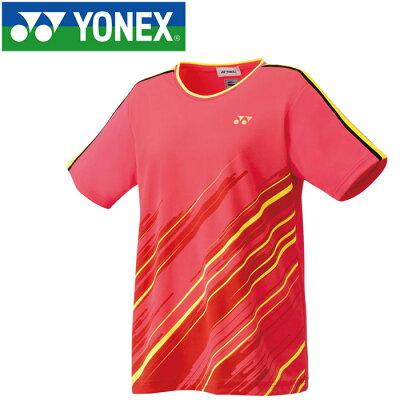 ヨネックス YONEX レディース テニスウェア ゲームシャツ シャインピンク 20497 706