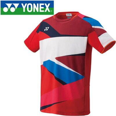 ヨネックス YONEX バドミントンウェア メンズ ゲームシャツ フィットスタイル 10309 2019SS