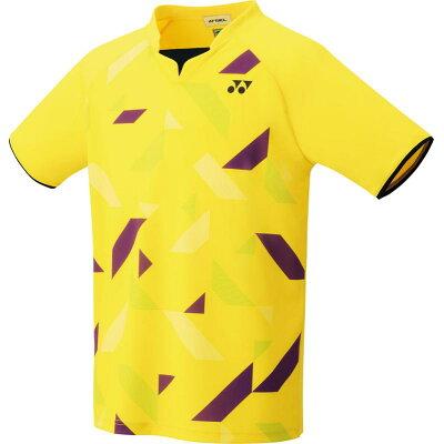 ヨネックス ユニゲームシャツ フィットスタイル 10315 色 : ライトイエロー サイズ : M