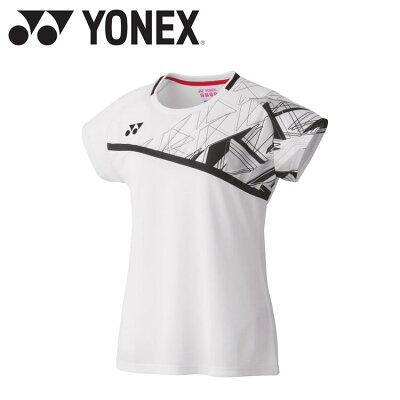 ヨネックス ウィメンズゲームシャツ 20522 色 : ホワイト サイズ : S