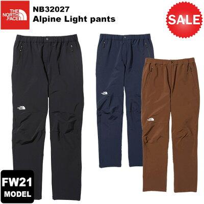THE NORTH FACE ザ・ノースフェイス ALPINE LIGHT PANT アルパイン ライト パンツ Men's M K ブラック NB32027