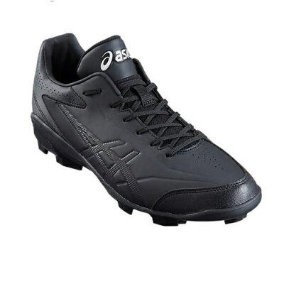 アシックス asics メンズ ジュニア 野球 ポイントスパイク スターシャイン STARSHINE 2 ブラック×ブラック 1121A012 001 キッズ