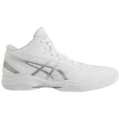 アシックス asics メンズ レディース バスケットシューズ ゲルフープ GELHOOP V11 ホワイト×シルバー 1061A017 119 ユニセックス