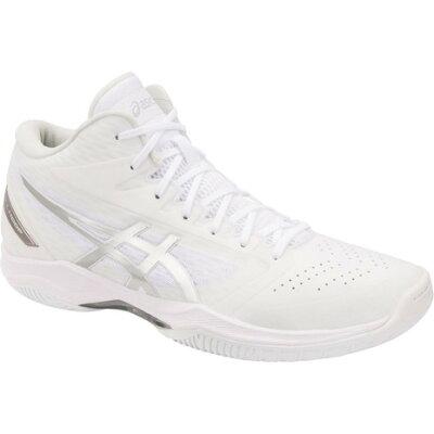 アシックス asics メンズ レディース バスケットシューズ ゲルフープ GELHOOP V11 ホワイト×シルバー 1061A015 119 ユニセックス