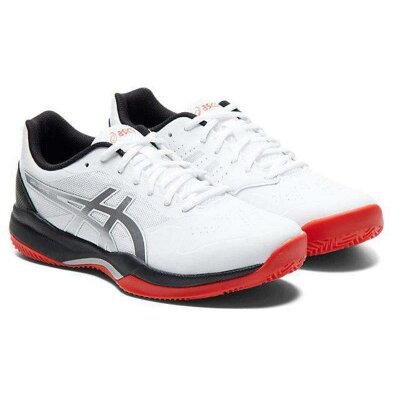 アシックス ASICS テニス GEL-GAME 7 CLAY/OC 1041A046 ホワイト レッド 30.0cm