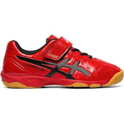 アシックス ASICS サッカー・フットサル JUNIOLE 5 IN 1104A010 CLASSIC RED/BLACK 18.0cm