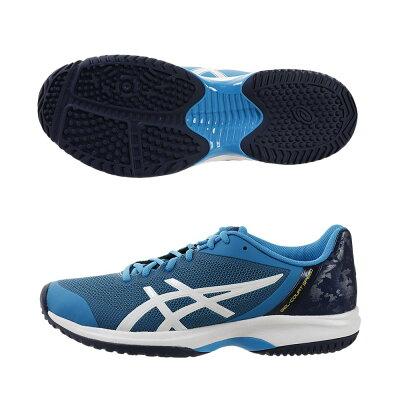 アシックス ASICS テニス GEL-COURT SPEED OC TLL800 アイランドブルー/ホワイト 25.5cm